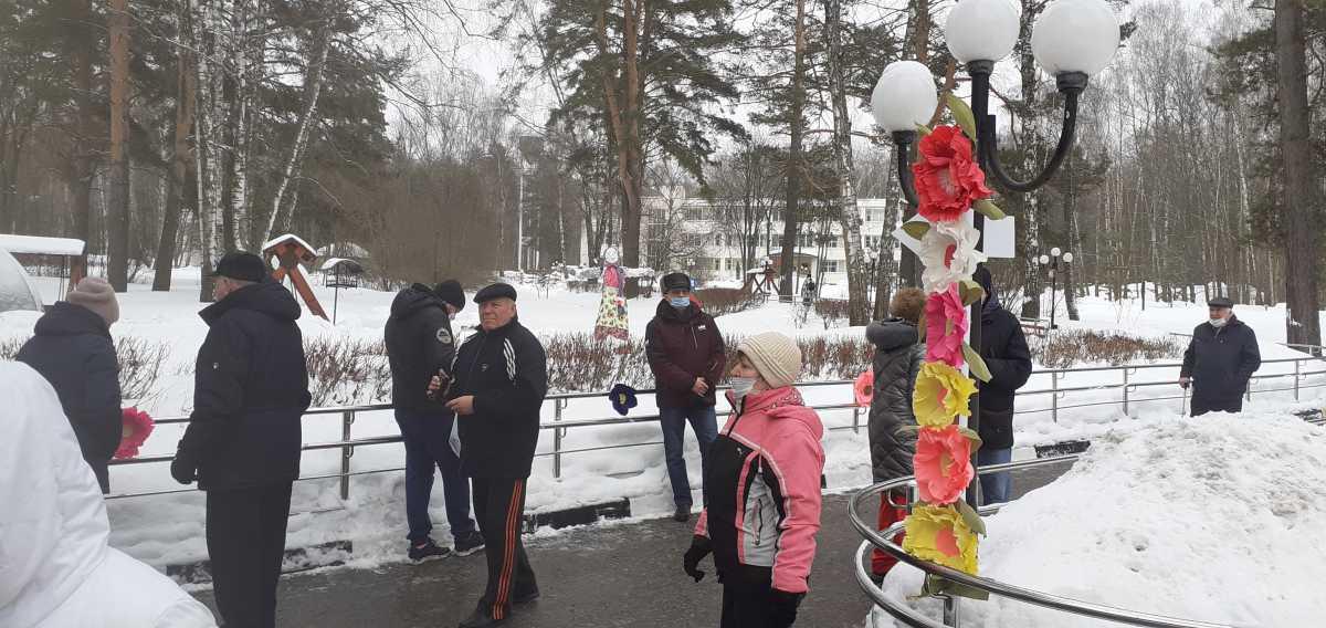 В ГБУ «Пансионат для инвалидов по зрению» прошел один из самых задорных праздников в году – Масленица